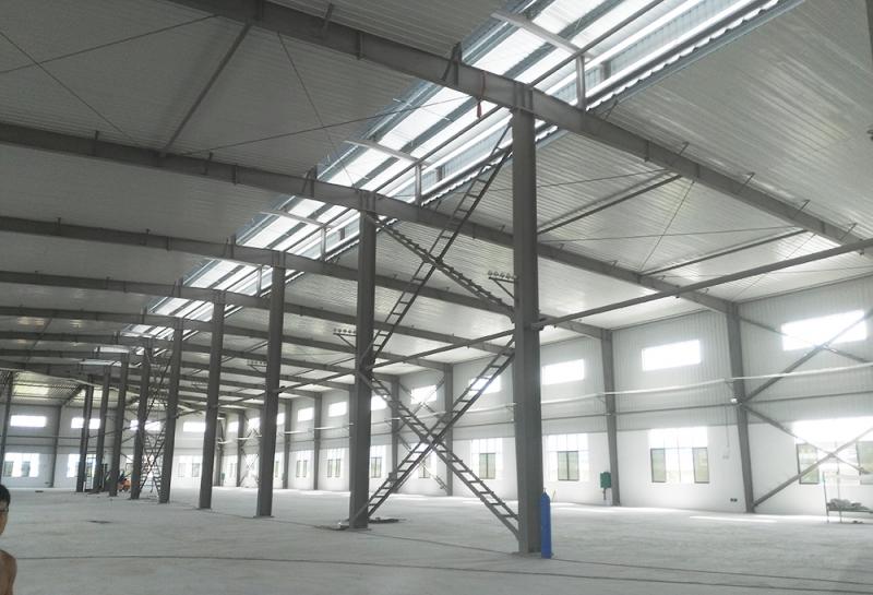 凭祥汇隆农副产品加工厂1厂房工程