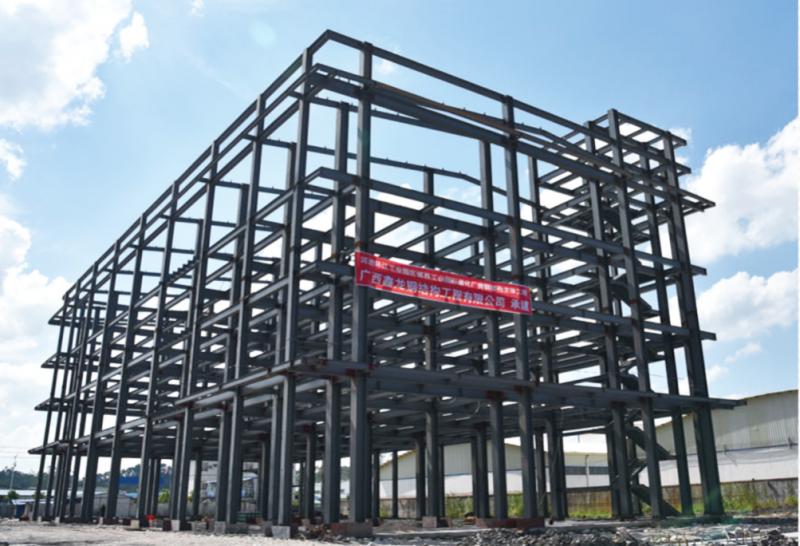 河池环江工业园区农民工创业园扶贫产业孵化基地钢结构主体工程