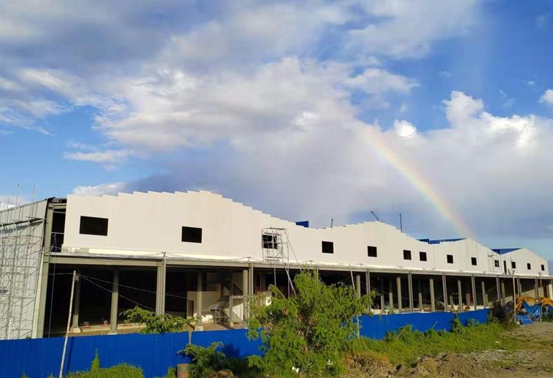 菲律宾卡威维达国际商城仓库工程
