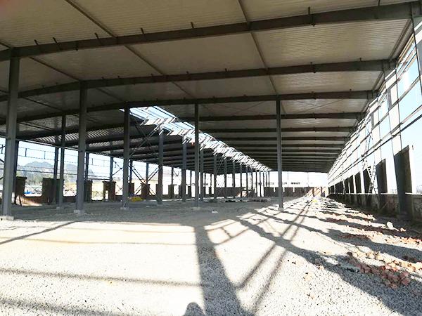 来宾轻型钢结构搭建施工