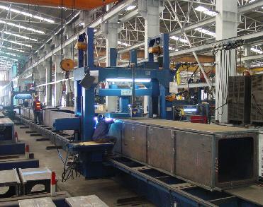 箱型柱钢构件