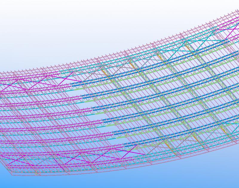 管桁架结构工程简述