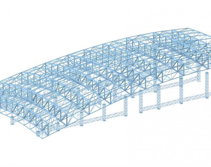 管桁架结构计算